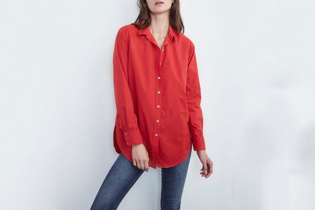 Elsa Cotton Poplin Button Up