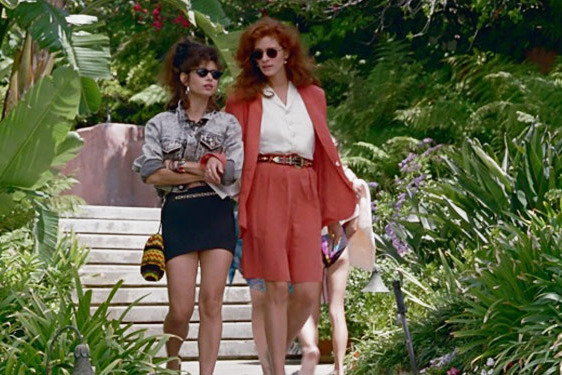 Julia Roberts wears long shorts in Pretty Woman — The Strategist reviews the current Bermuda Short trend.