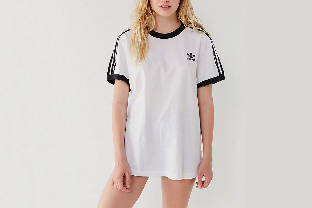 Adidas Originals 3 Stripes Ringer Tee