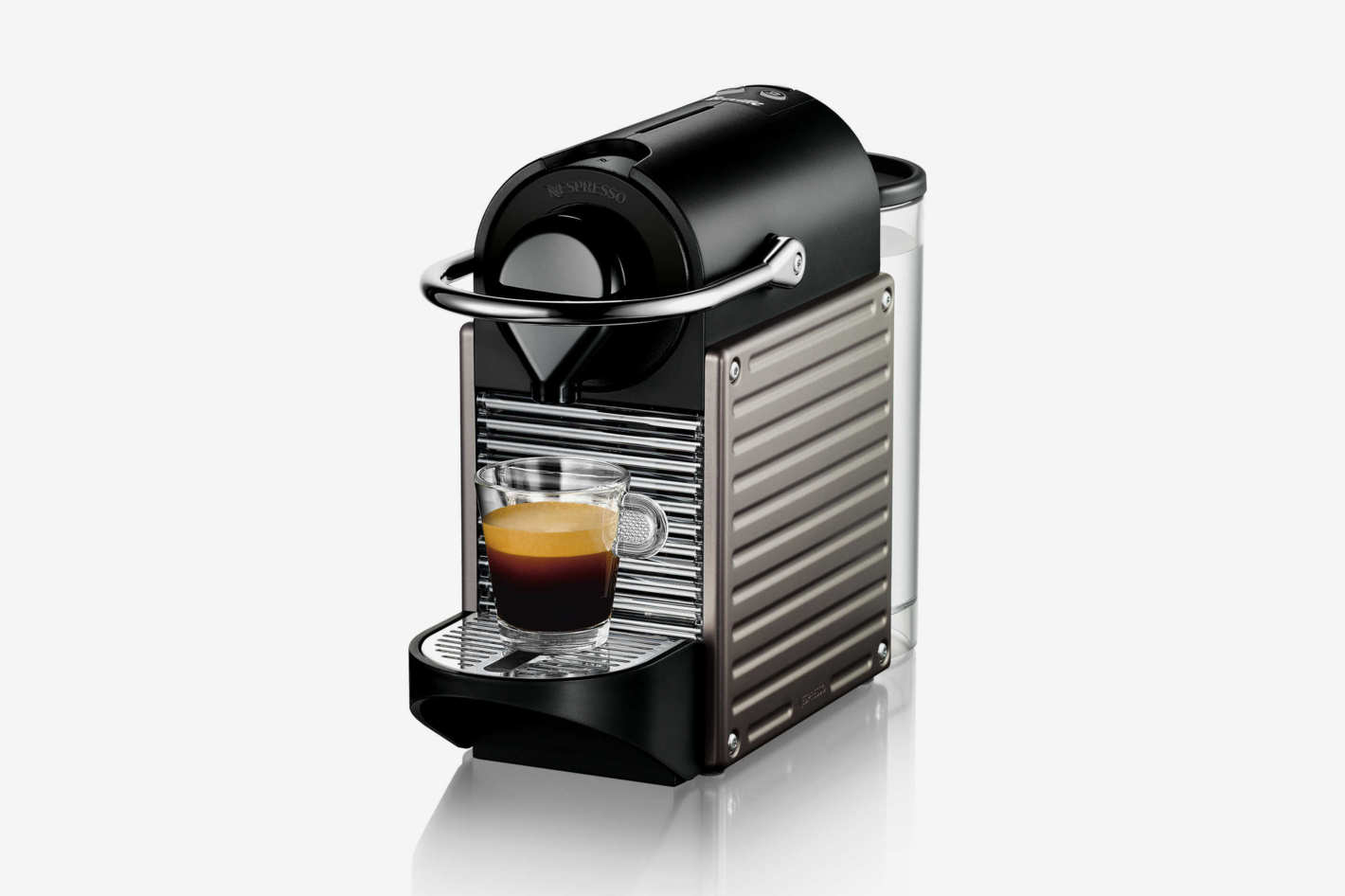 Nespresso by Breville Pixie Espresso Maker in Titanium