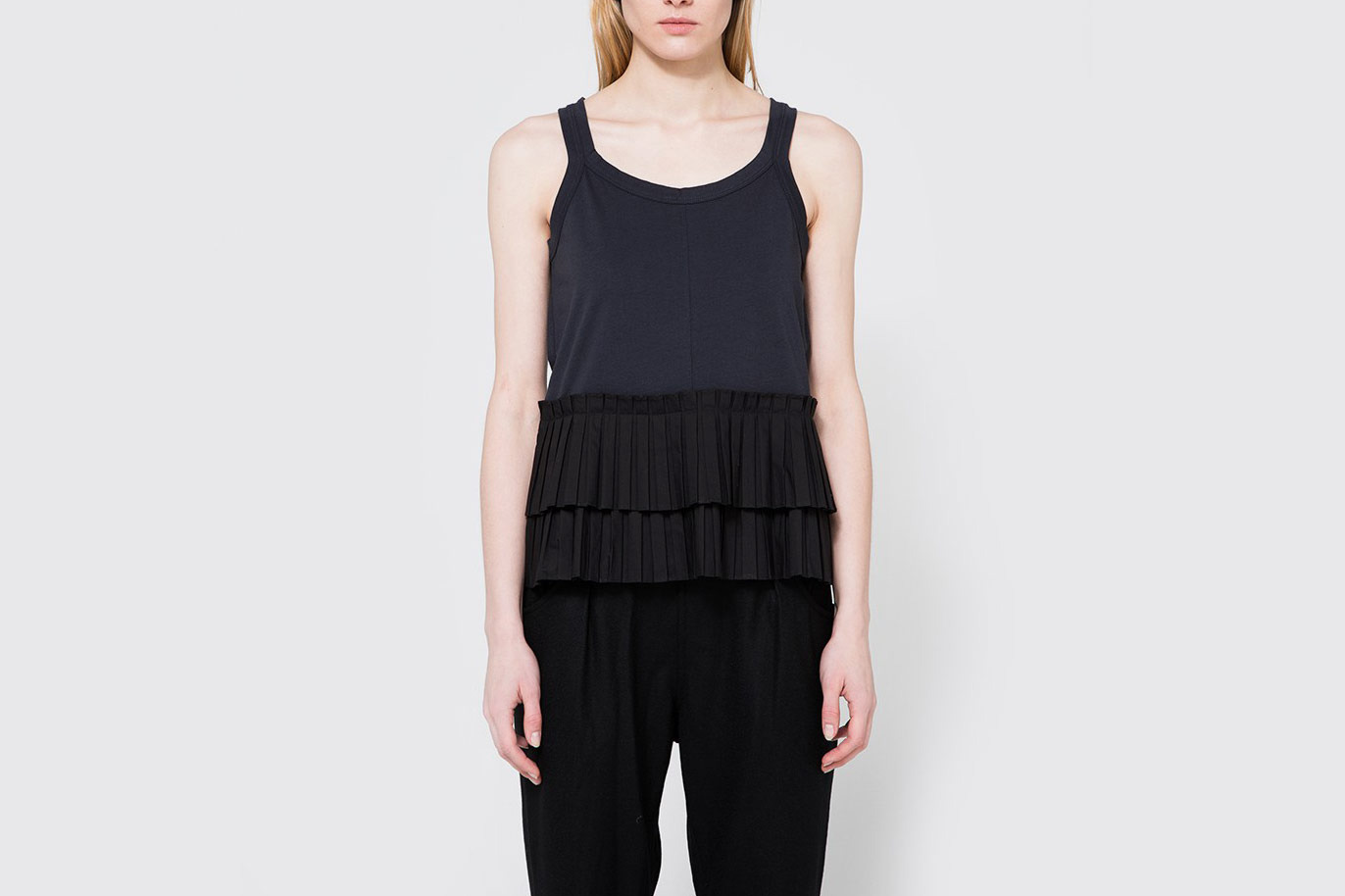 Marni Crew Neck T-Shirt in Blublack