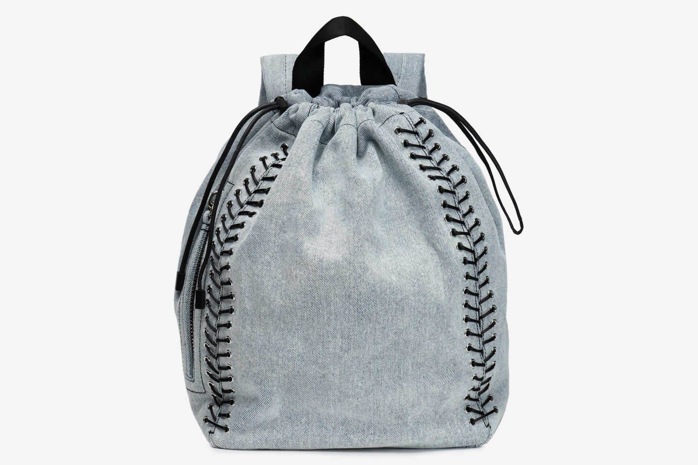 3.1 Phillip Lim Lace-Up Denim Backpack