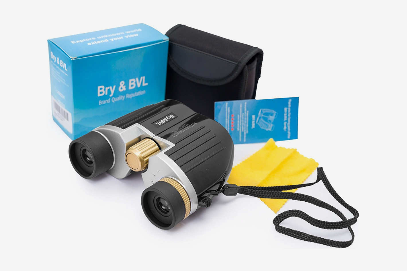 Bry & BVL Binoculars for Kids