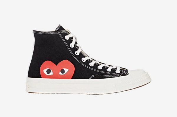 Comme des Garçons Play Men's Chuck Taylor 1970s High-Top Sneakers