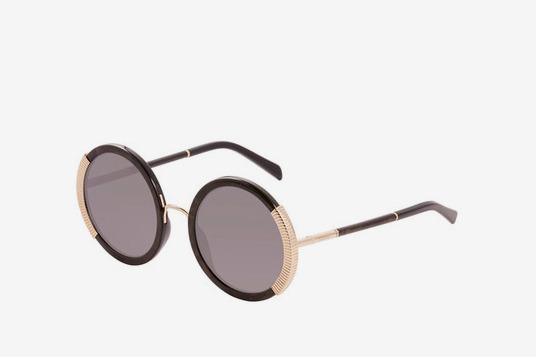 Balmain Women's Round 54mm Acetate Frame Sunglasses