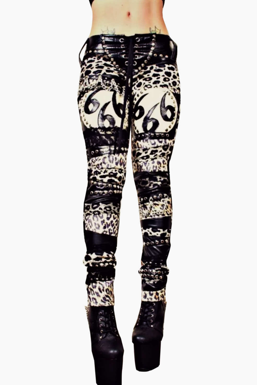 Wicked Lester Crepito Skinny Trousers