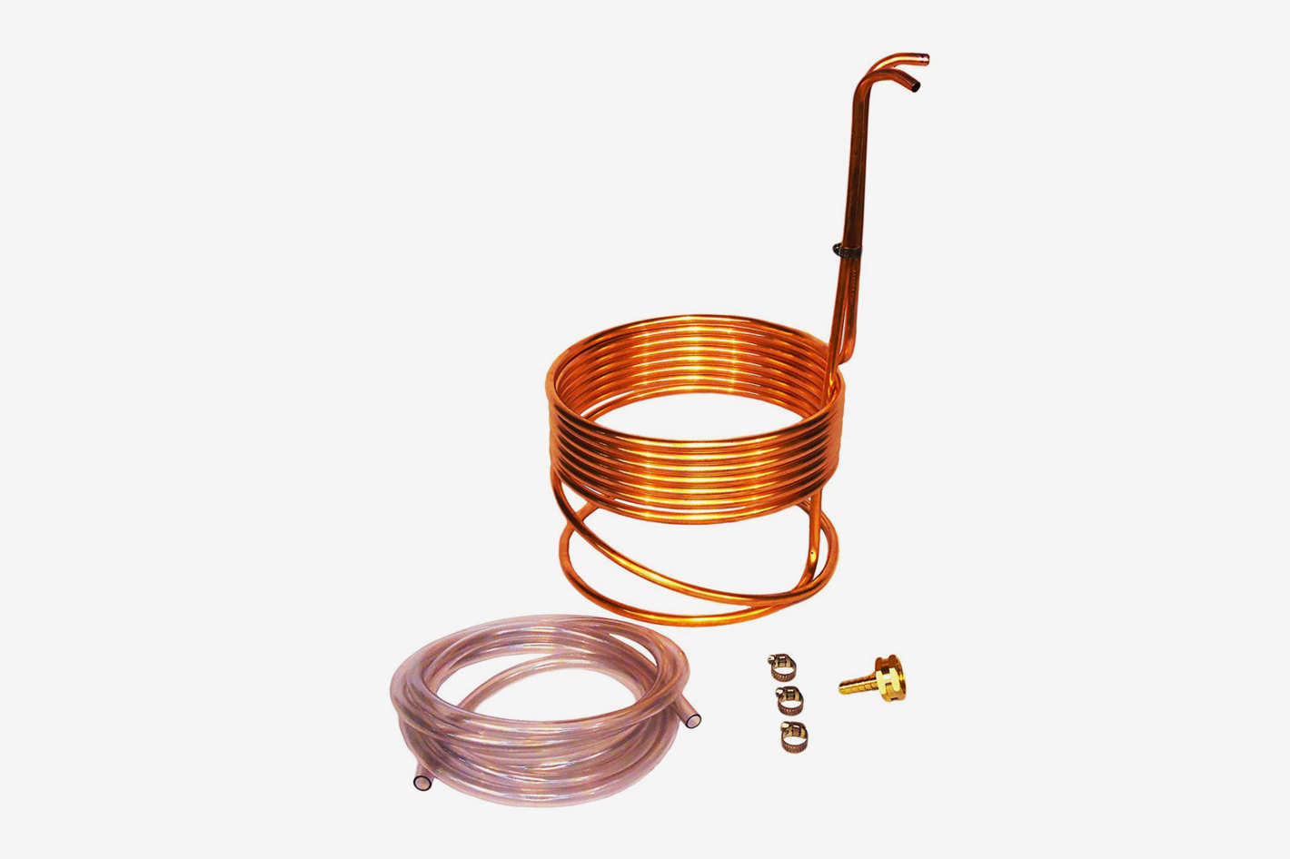 "Super Efficient 8"" Compact Immersion Wort Chiller"