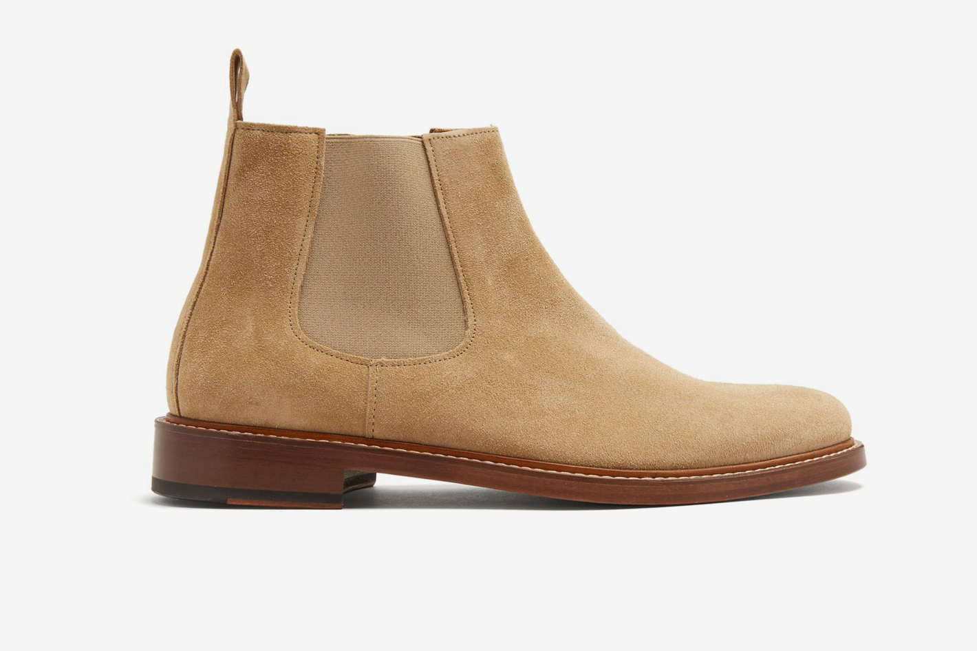 A.P.C. Ethan Suede Chelsea Boots