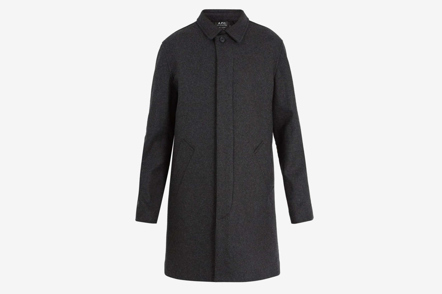 A.P.C.Mac New England Wool-Blend Coat