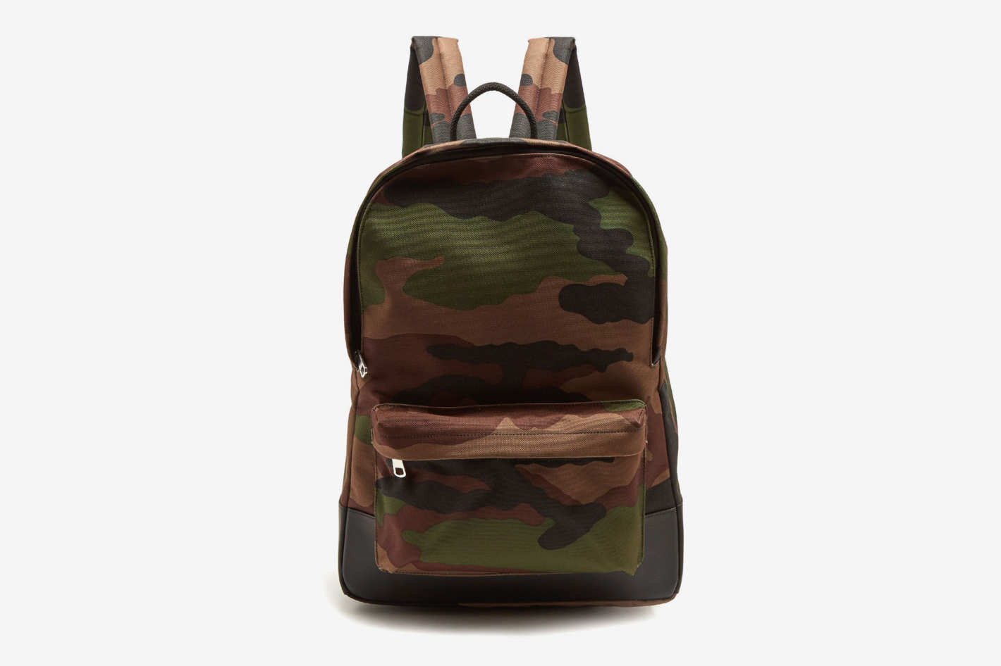 A.P.C. Mickael Camouflage-Print Canvas Backpack