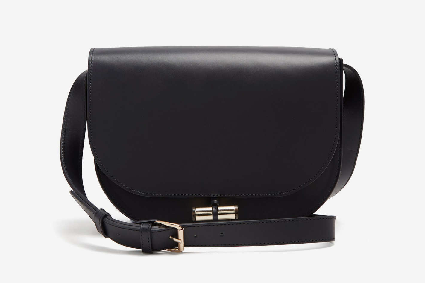A.P.C.  June Leather Cross-Body Bag