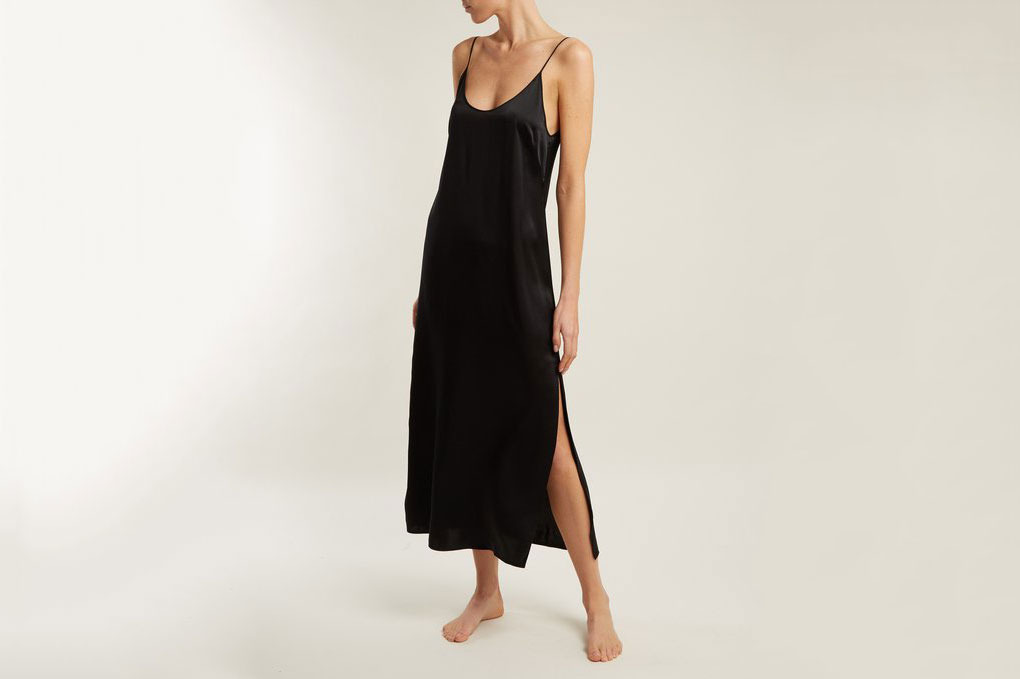 Araks Quies Silk-Satin Dress