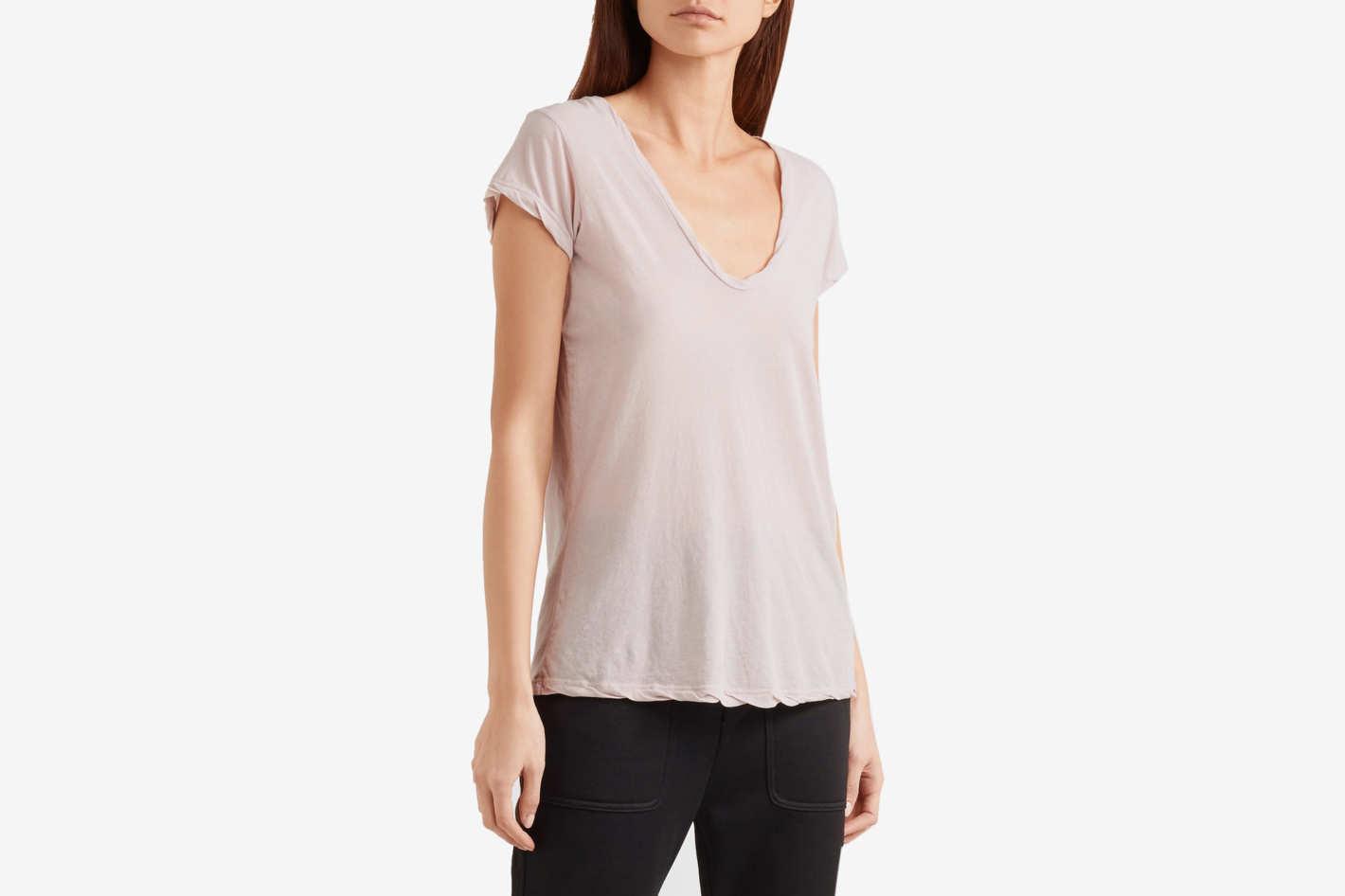 James Perse Slub Cotton Jersey T-Shirt