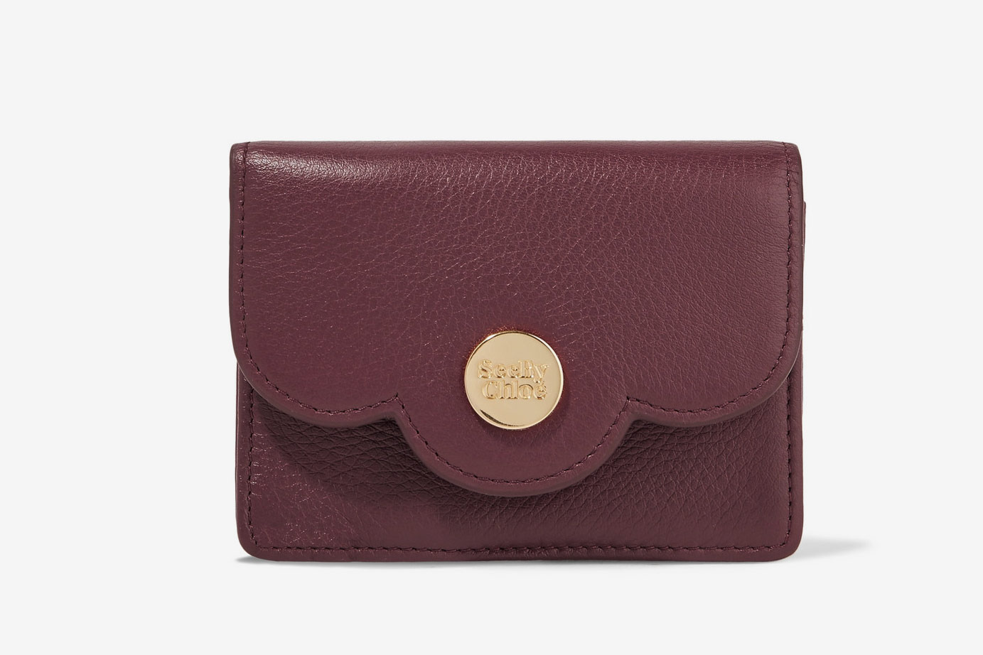 See by Chloe Textured Leather Wallet