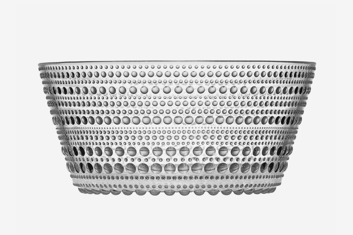 Iittala Kastehelmi Serving Bowl in Clear