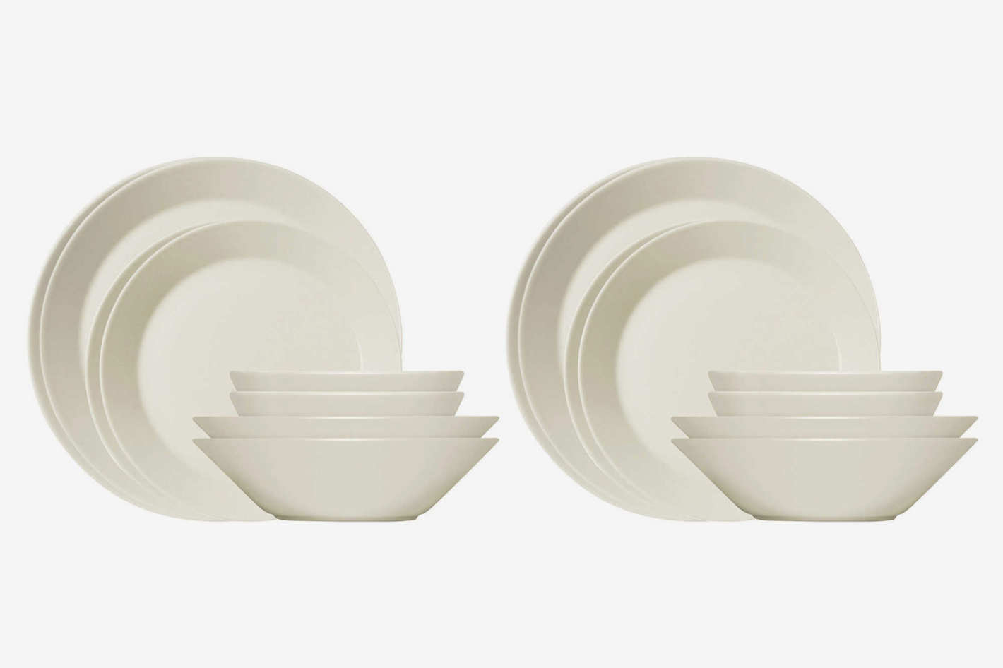 Iittala Teema 16-Piece Dinnerware Set in White