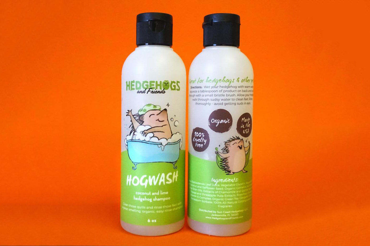 Hogwash Coconut Lime Shampoo