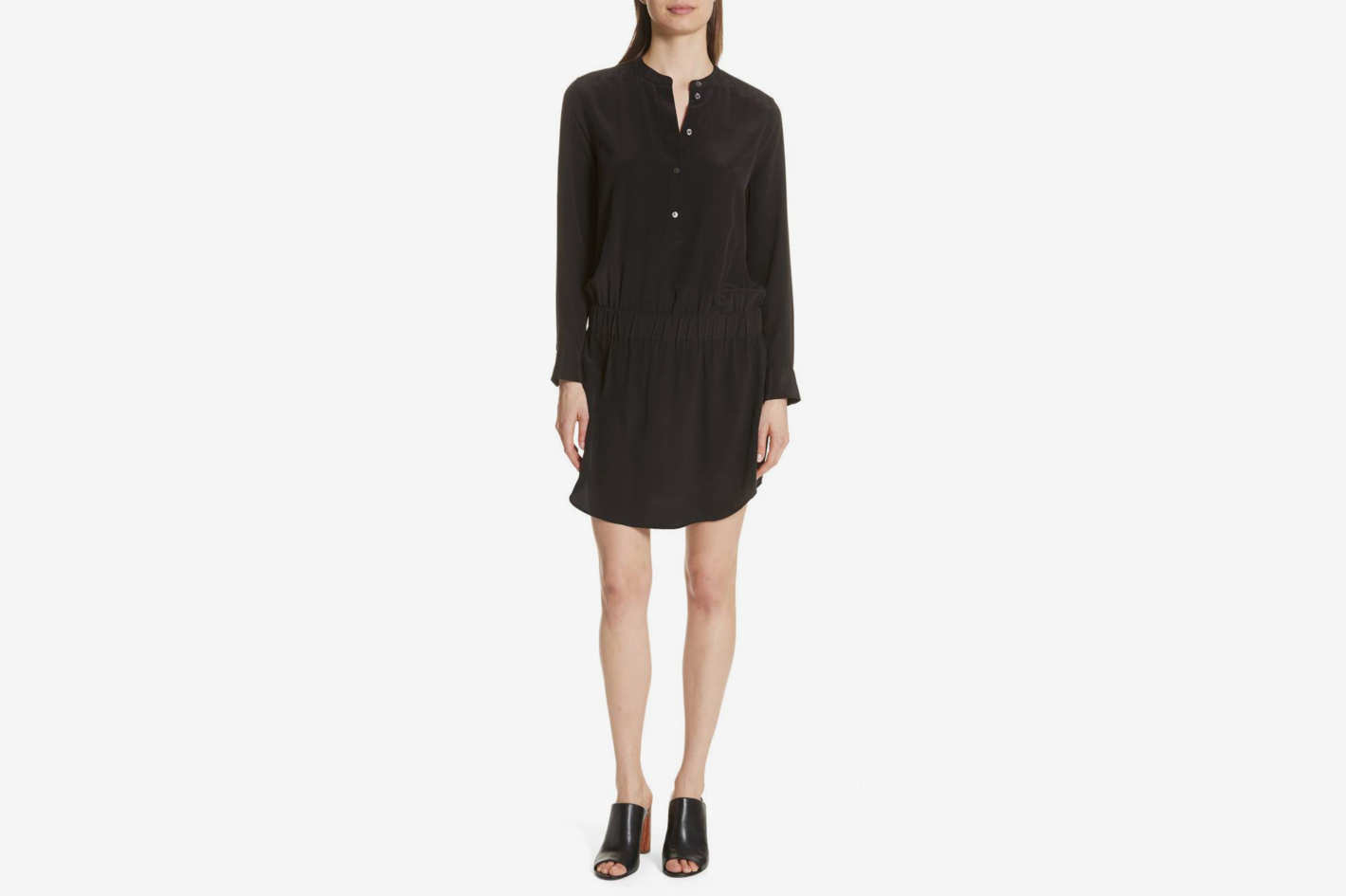 Equipment Chelsea Silk Shirtdress