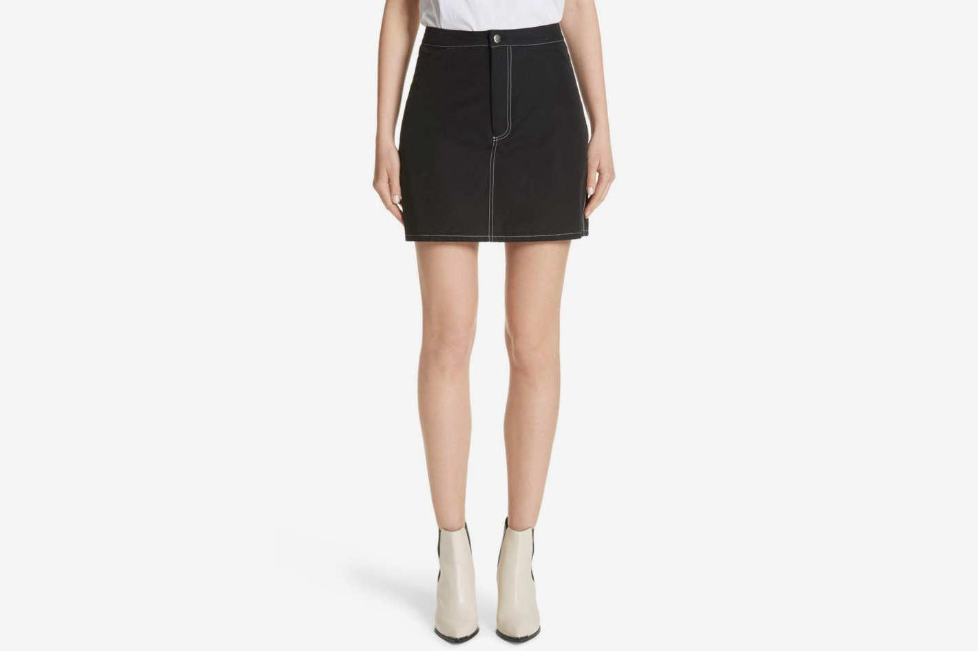 Eckhaus Latta High Waist Miniskirt