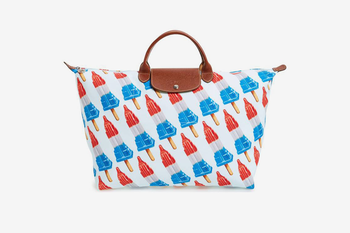 Longchamp x Jeremy Scott Empire State Popsicle Tote