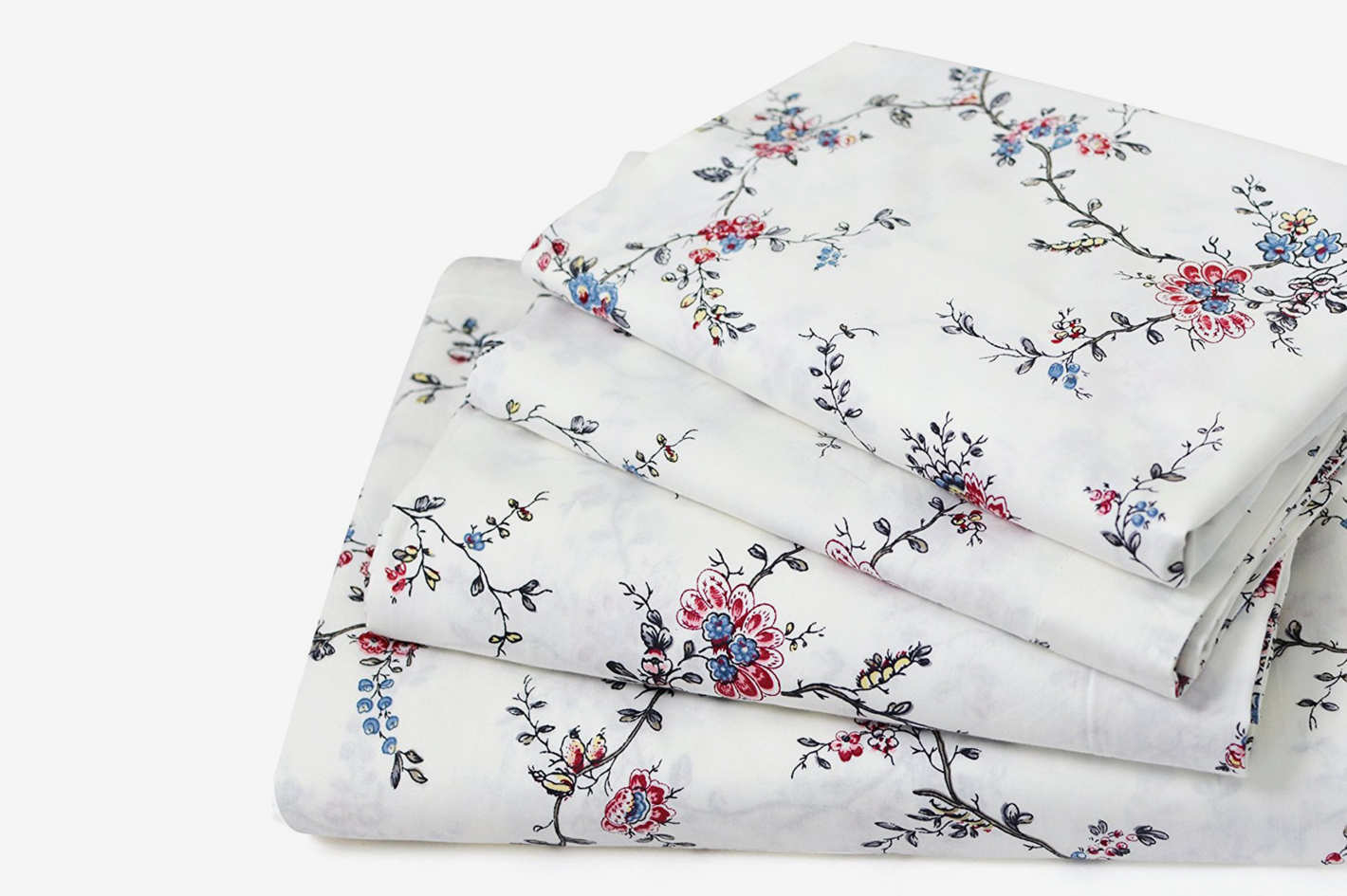 FADFAY Floral Bed Sheet Set