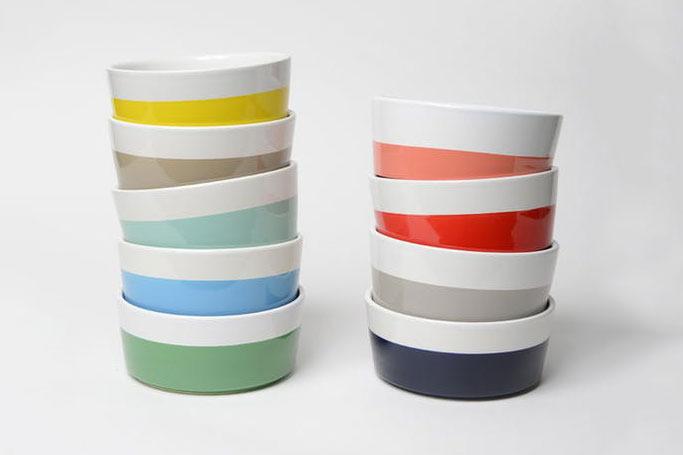 Dipper Ceramic Dog Bowl