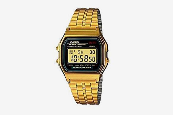 Casio A159WGEA-1EF Gold Classic