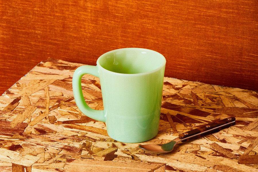 Mosser Glass Jadeite Mug