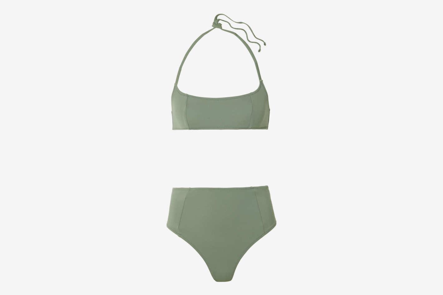 Solid & Striped Jessica Halterneck Bikini