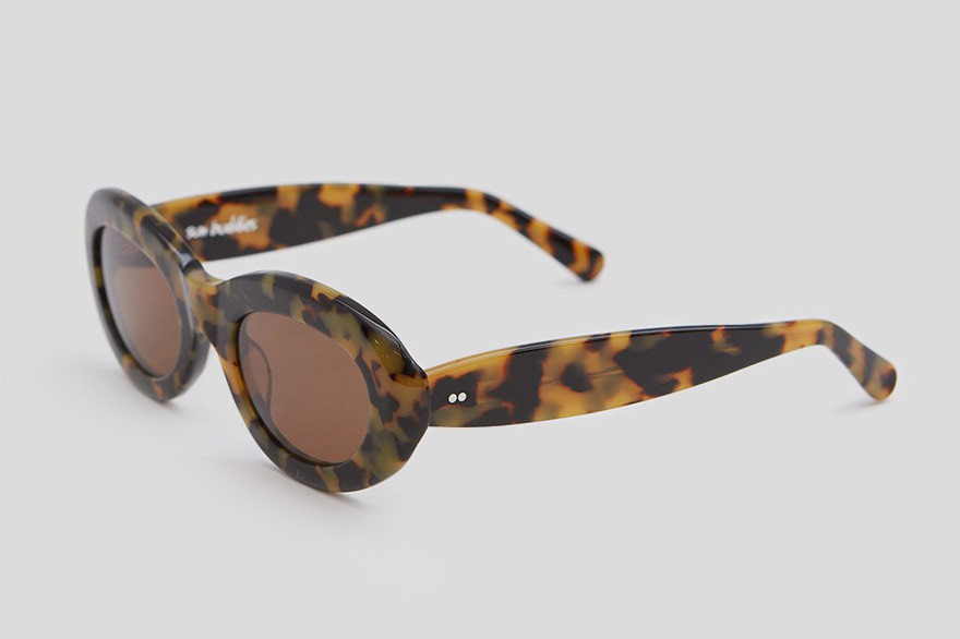 Sun Buddies Courtney Sunglasses in Blonde Tortoise