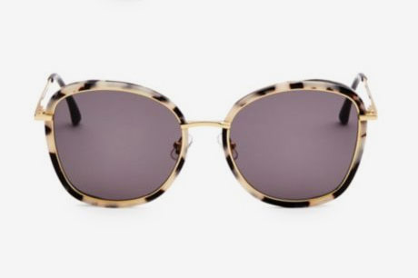 Tinted 58mm Oval Sunglasses