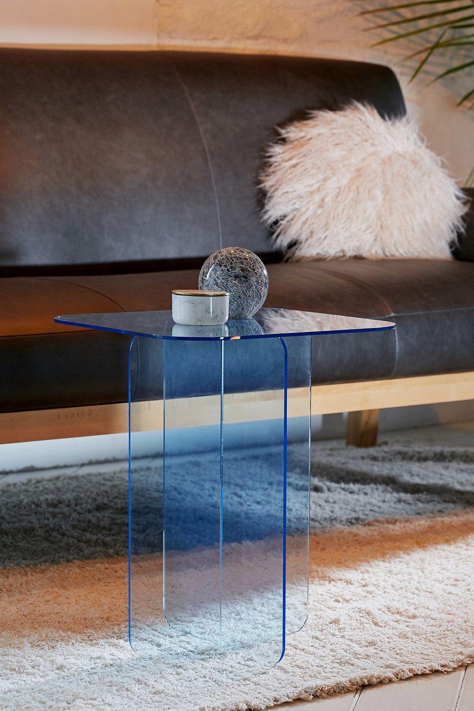 Halvar Acrylic Side Table