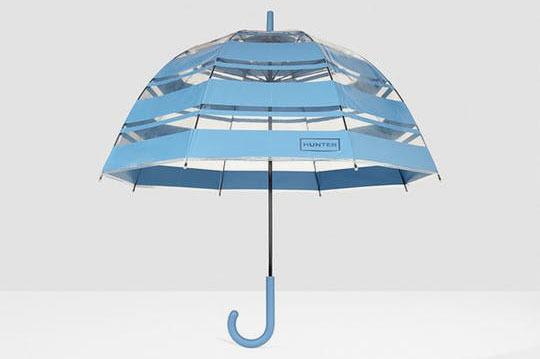 Hunter Original Stripe Print Bubble Umbrella