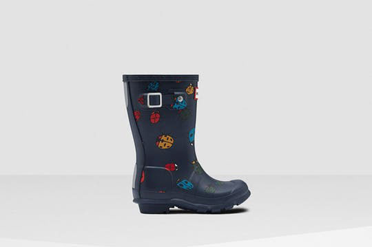 Hunter Original Little Kids Ladybug Rain Boots