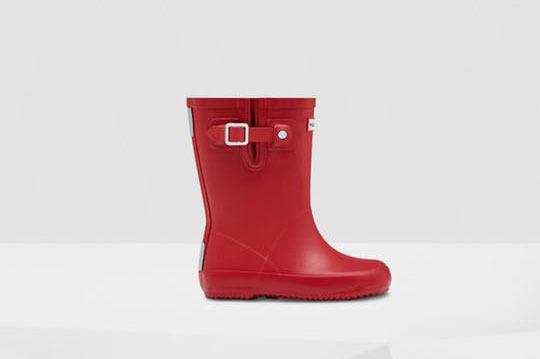 Hunter Original Little Kids Flat Sole Rain Boots
