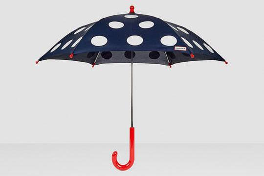 Hunter Original Kids' Ladybug Surprise Polka Dot Umbrella