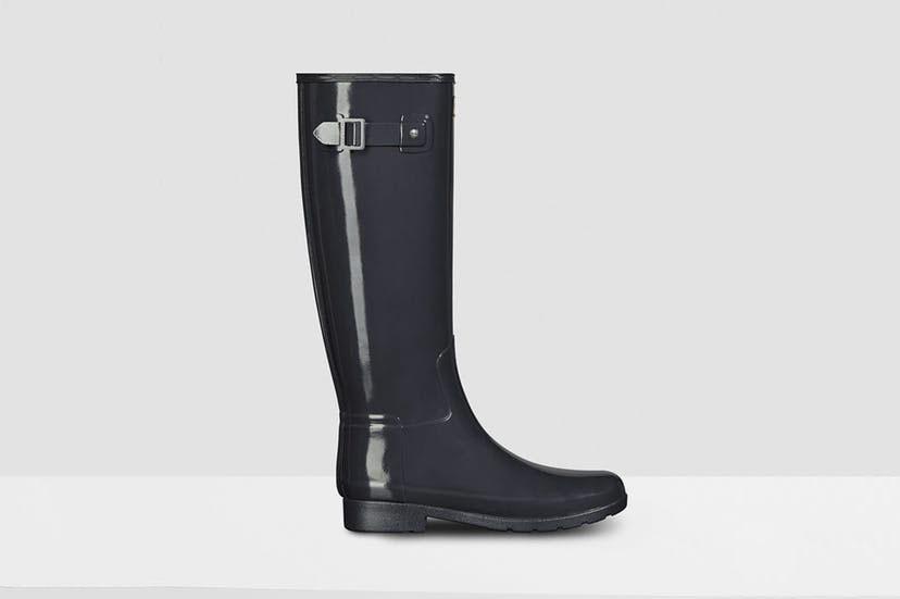Hunter Women's Original Refined Gloss Rain Boots