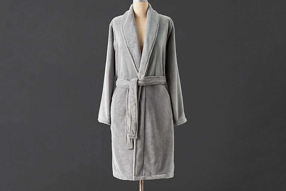 Restoration Hardware Luxury Plush Spa Robe