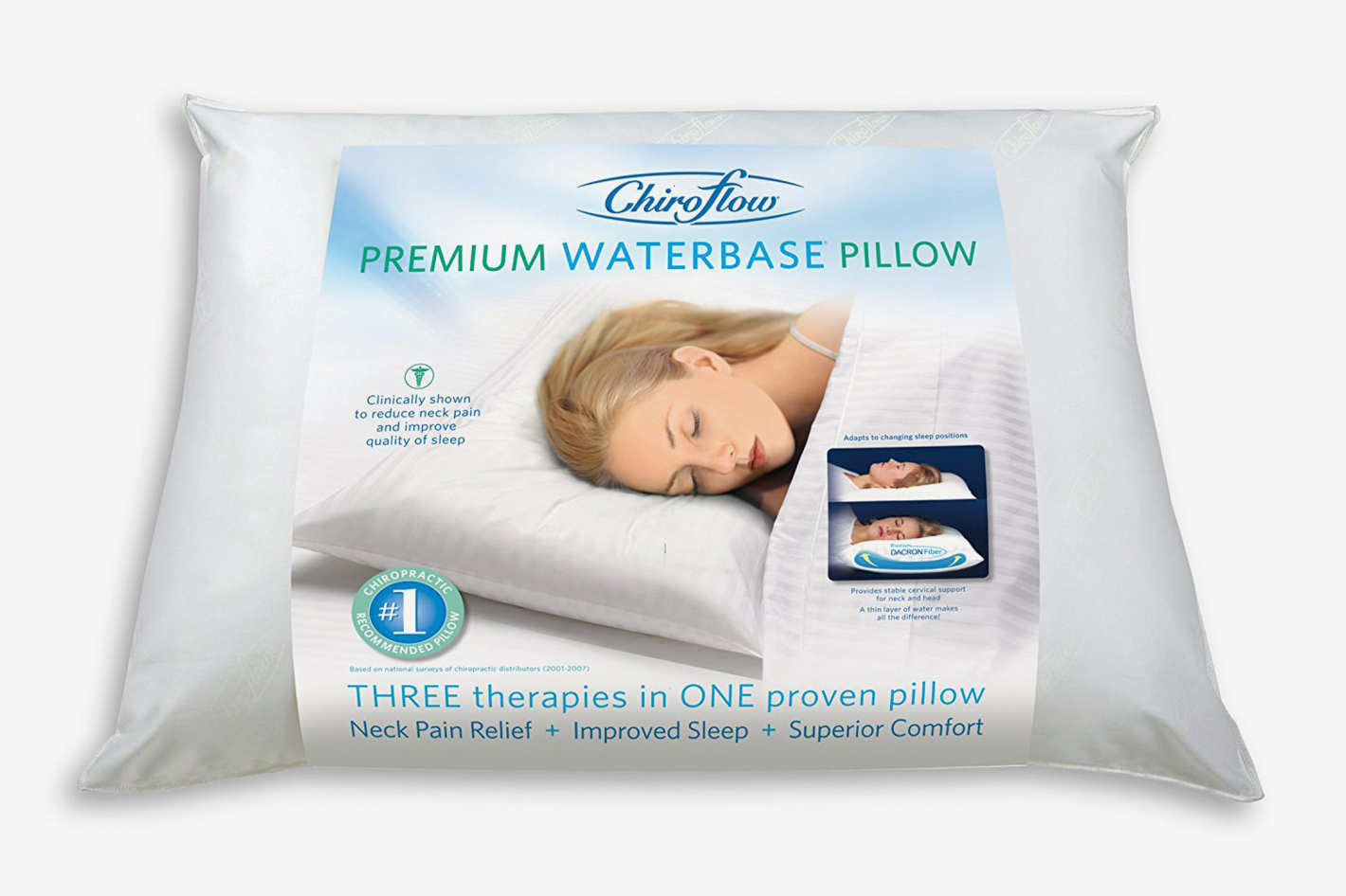 Chiroflow PILLOW by Mediflow Chiroflow