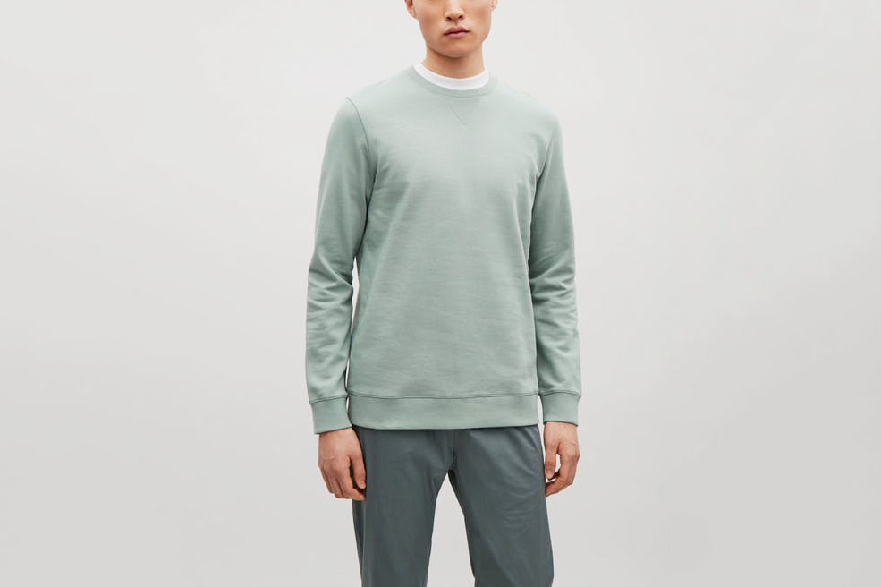 COS Fleeced Sweatshirt