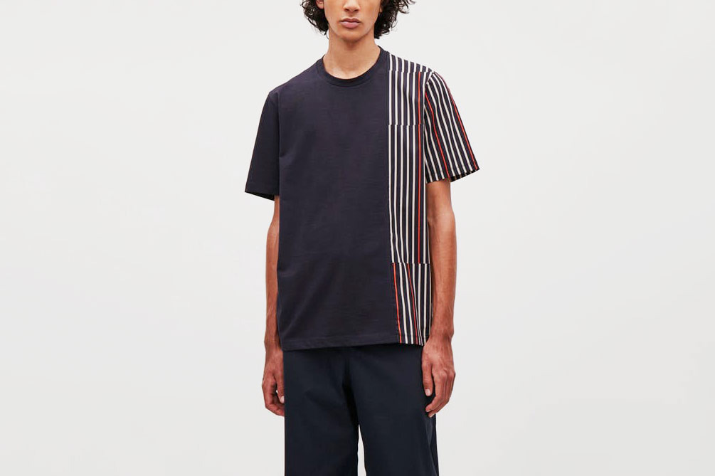 COS Oversize Striped T-shirt