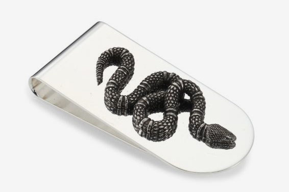Gucci Serpent Money Clip