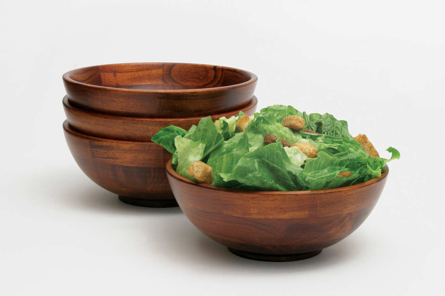 Lipper Cherry Individual Salad Bowls — Set of 4