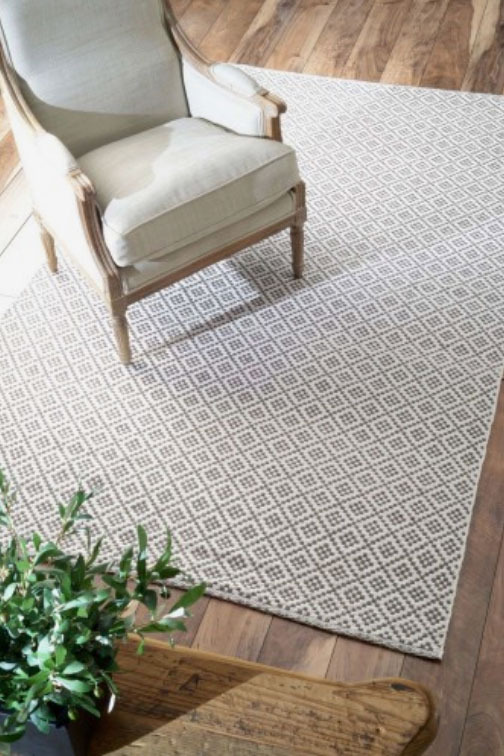 NuLoom Hand Loomed Holcombe Gray Area Rug
