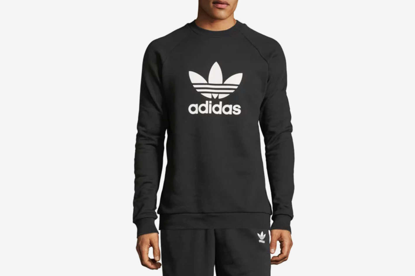 Adidas Men's Trefoil Warm-Up Sweatshirt