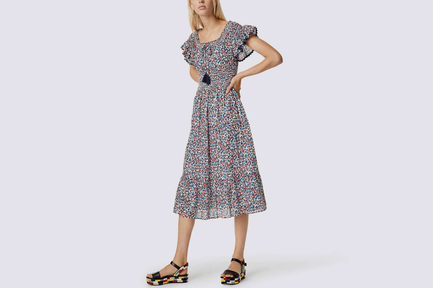 Tory Burch Wildflower Smock Dress