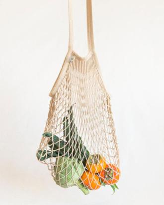 Vegetables in a net bag