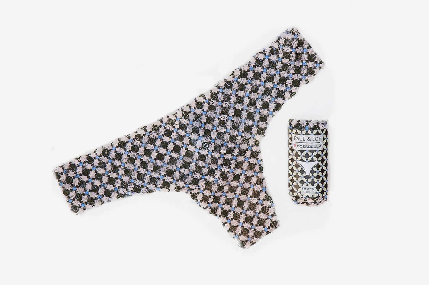 Cosabella Jolie Printed Lace Thong