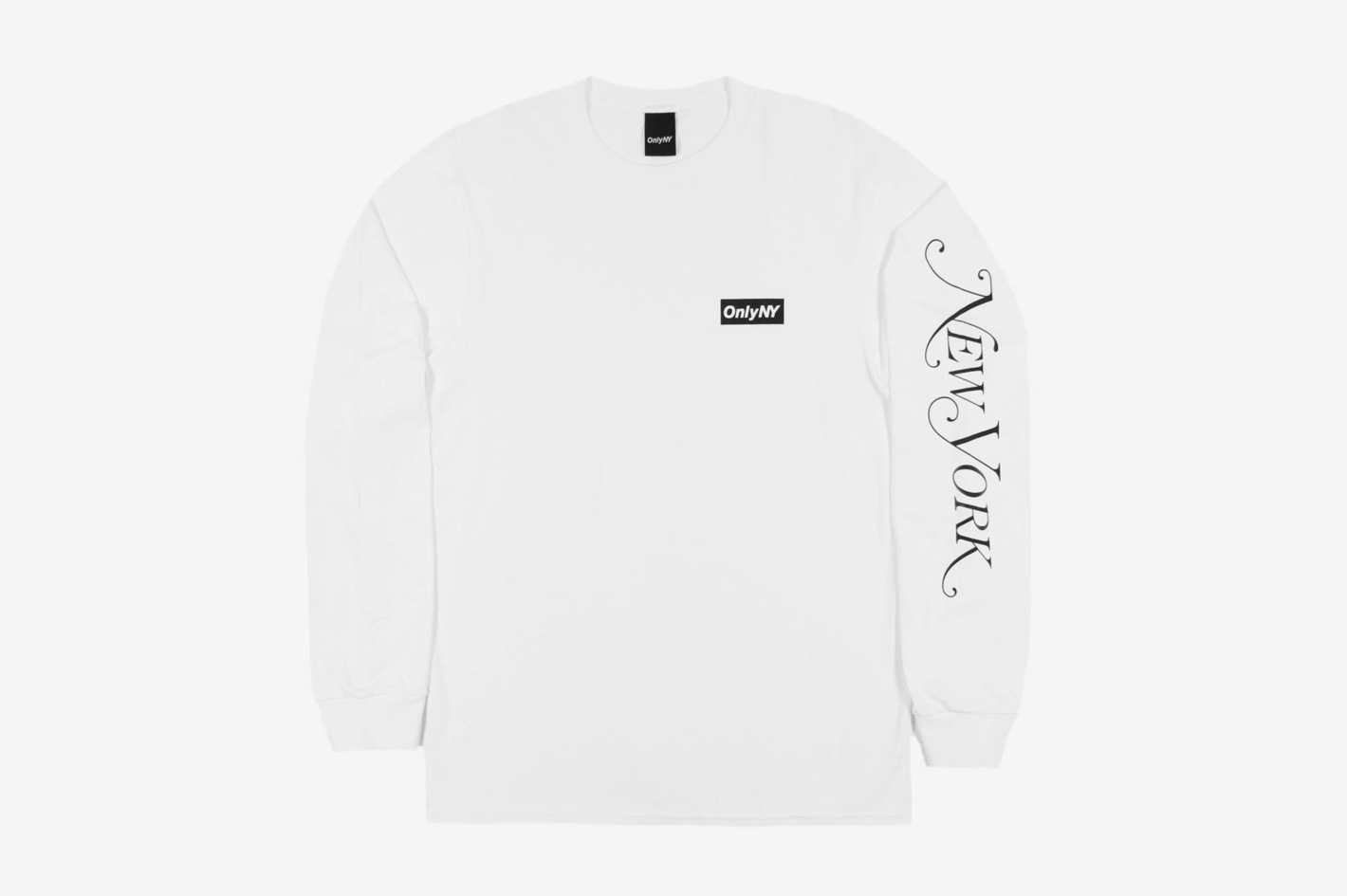 Logo L/S T-Shirt - White