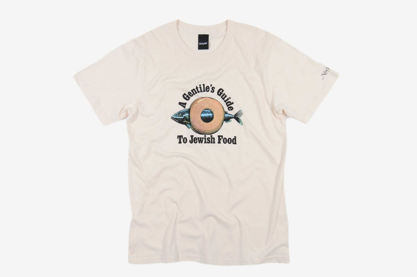 Gentile's Guide T-Shirt - Natural